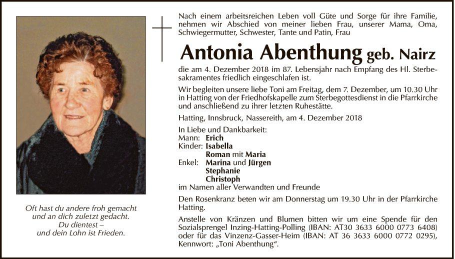 Antonia Abenthung
