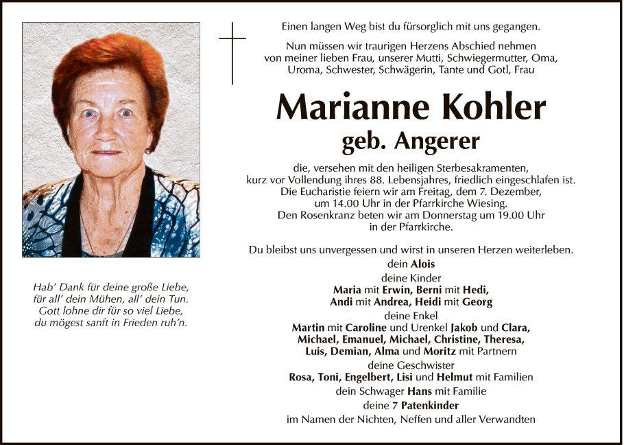 Marianne Kohler