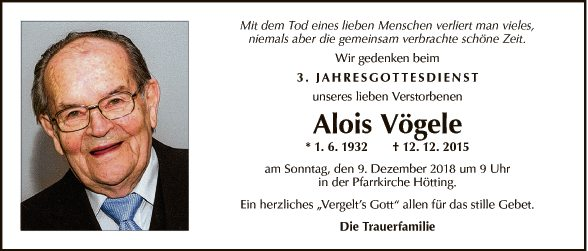 Alois Vögele