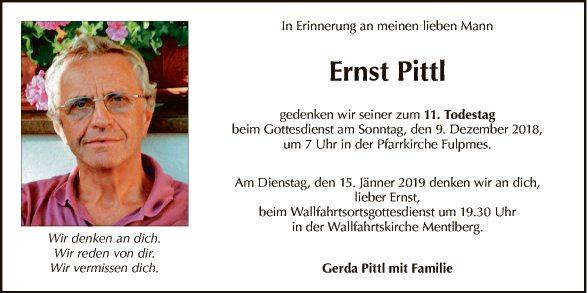 Ernst Pittl