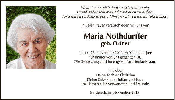 Maria Nothdurfter