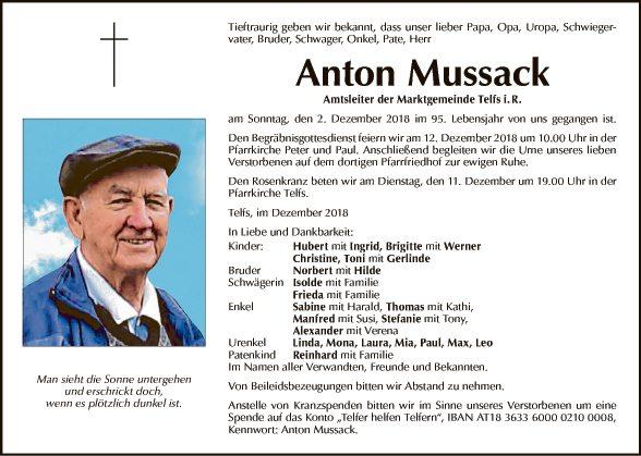 Anton Mussack