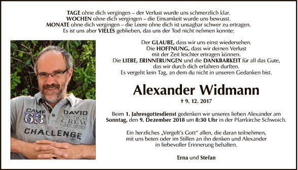 Alexander Widmann