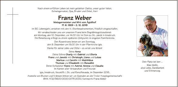 Franz Weber