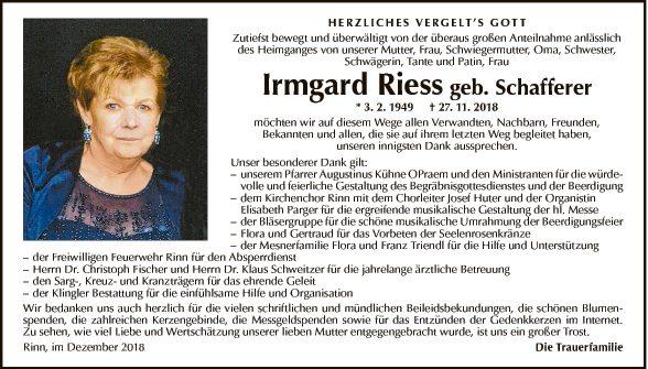 Irmgard Riess