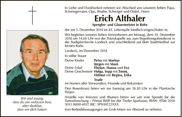 Erich Althaler