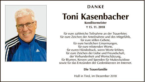 Toni Kasenbacher