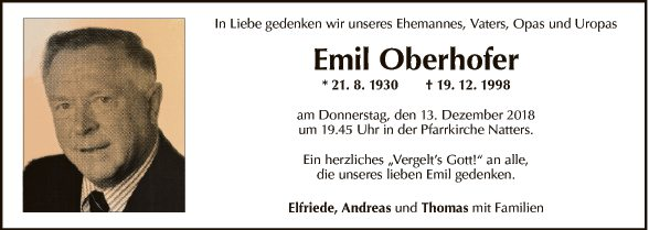Emil Oberhofer