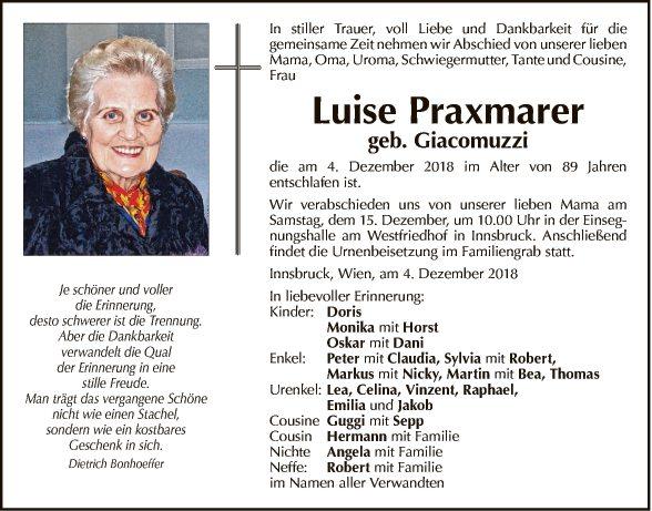 Luise Praxmarer