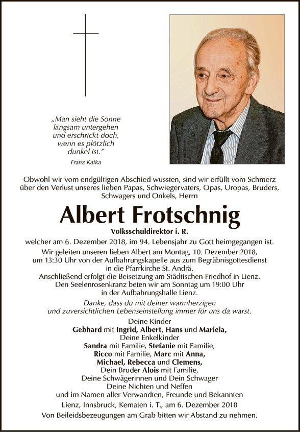 Albert Frotschnig