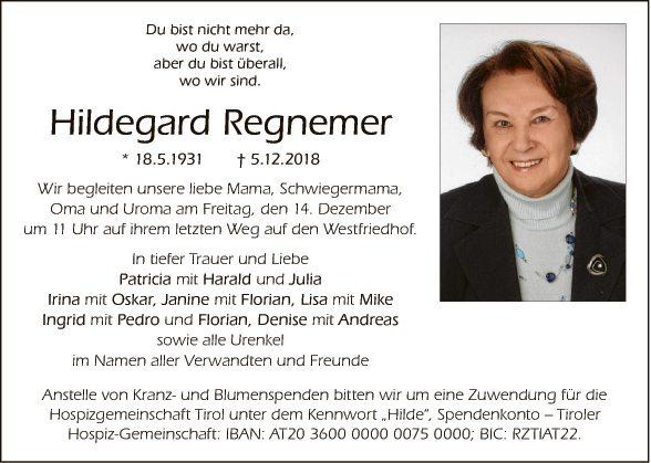 Hildegard Regnemer
