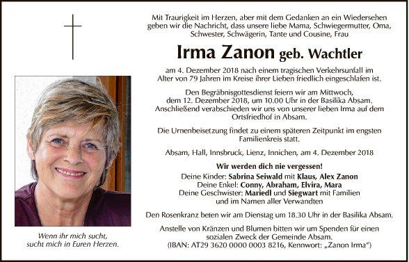 Irma Zanon