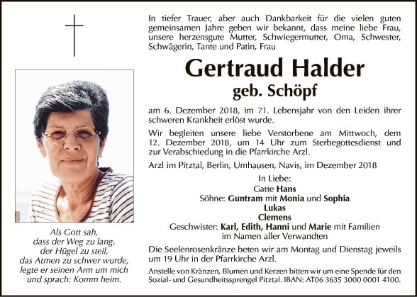 Gertraud Halder