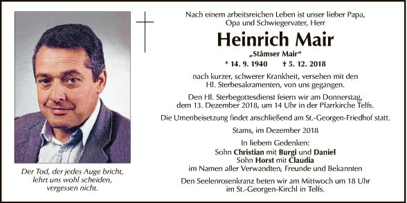 Heinrich Mair