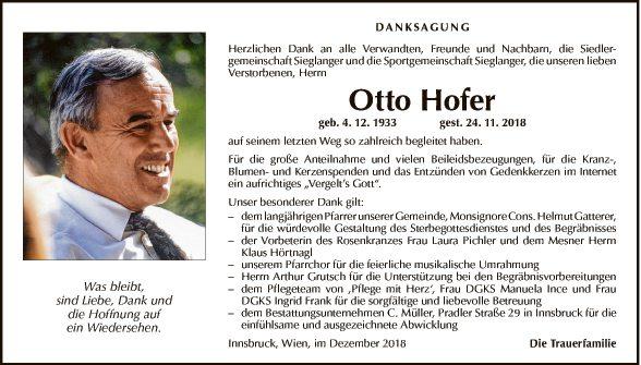 Otto Hofer