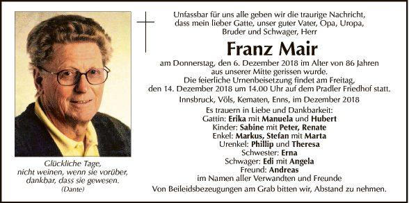 Franz Mair