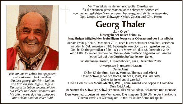 Georg Thaler