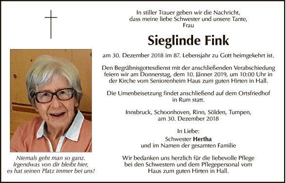 Sieglinde Fink