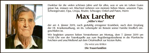 Max Larcher