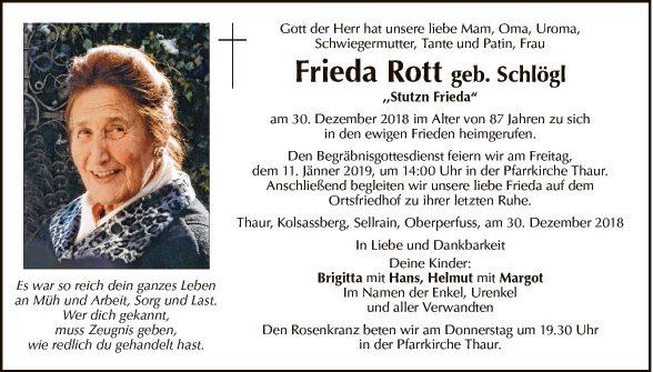 Frieda Rott