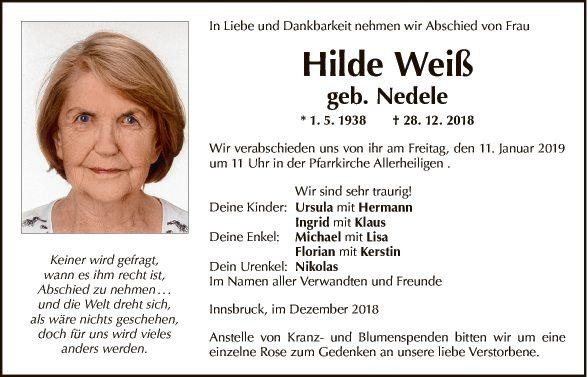 Hilde Weiss