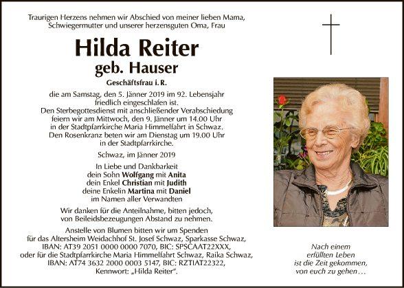 Hilda Reiter