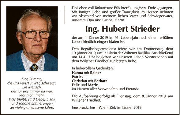 Hubert Strieder