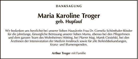 Maria Karoline Troger