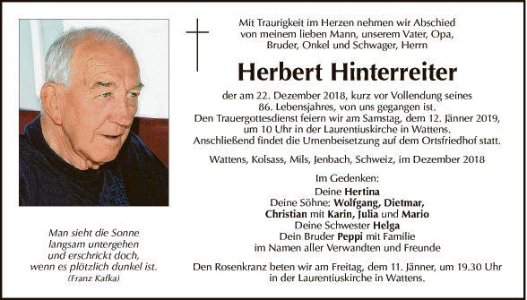 Herbert Hinterreiter