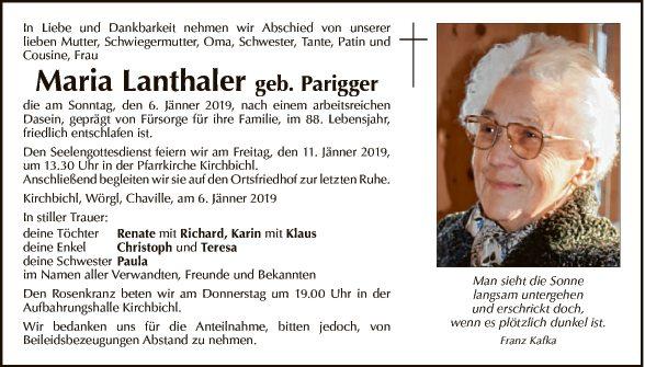 Maria Lanthaler