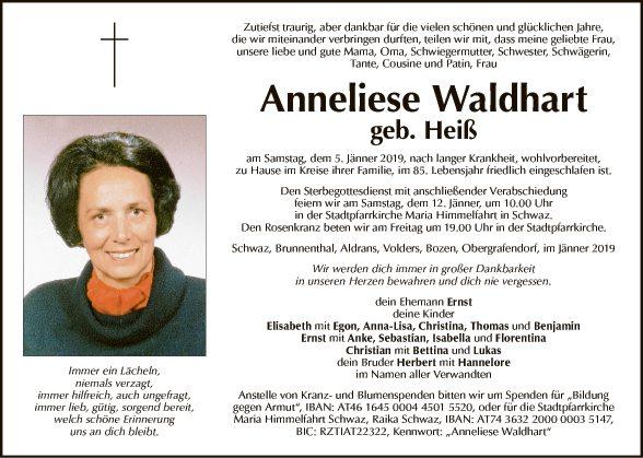 Anneliese Waldhart