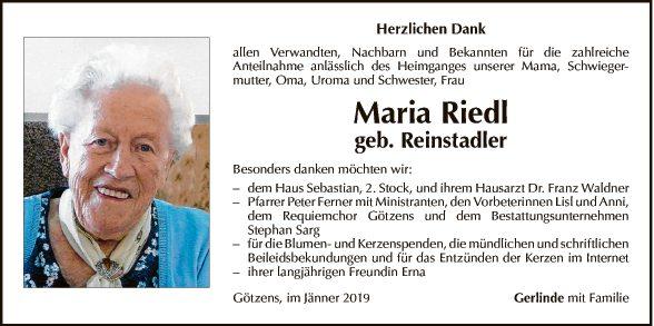 Maria Riedl