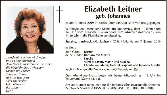 Elizabeth Leitner