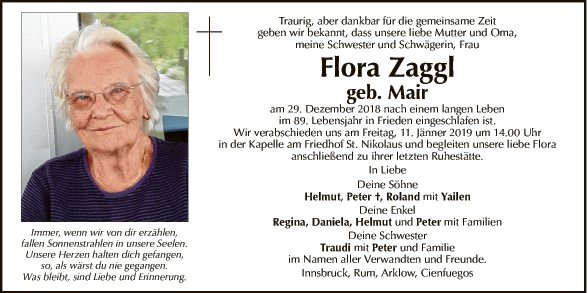 Flora Zaggl