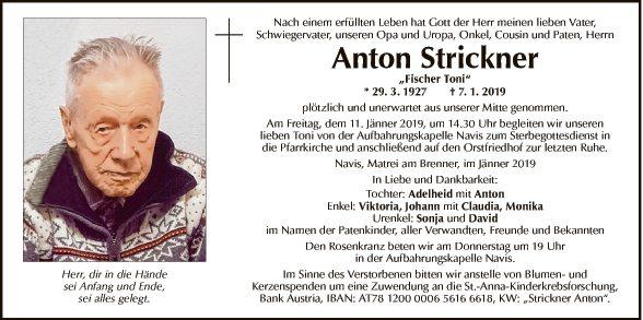 Anton Strickner