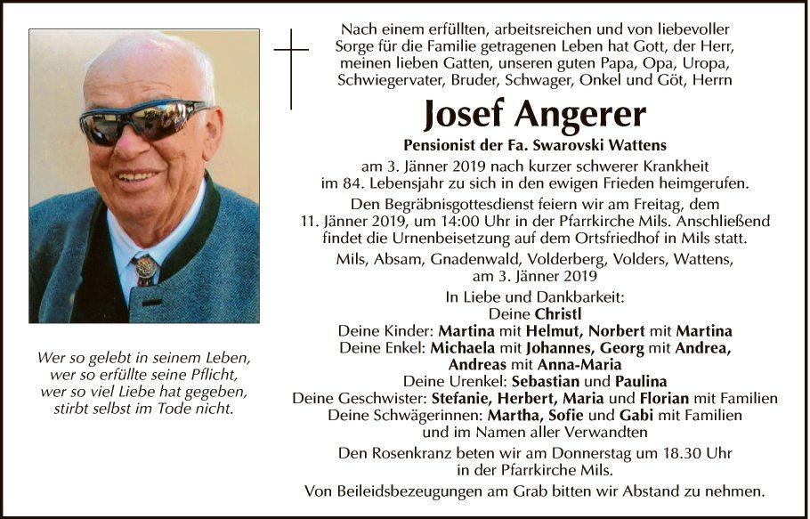 Josef Angerer