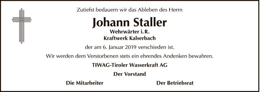 Johann Staller