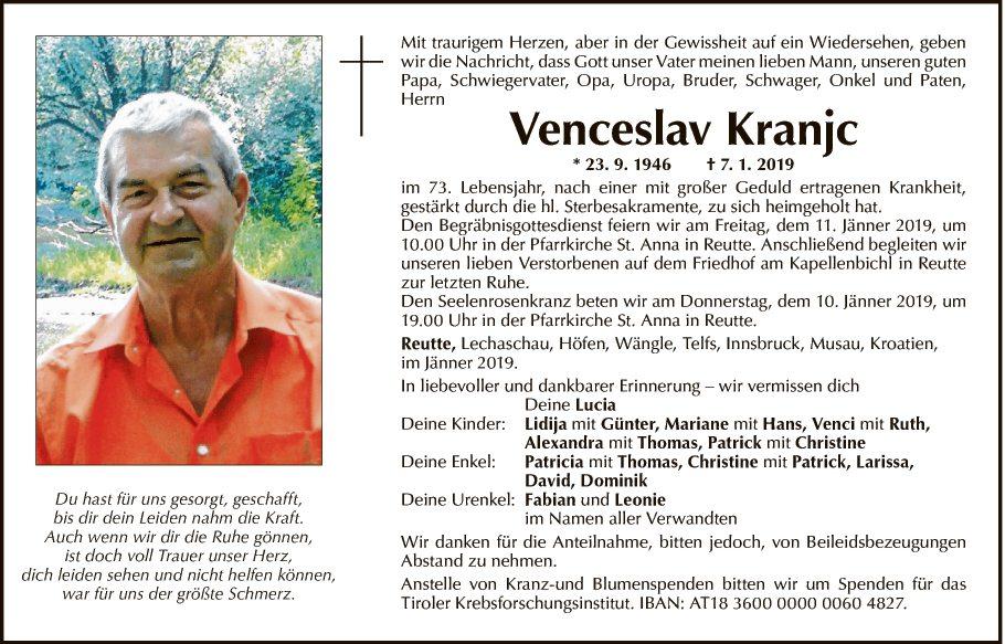 Venceslav Kranjc