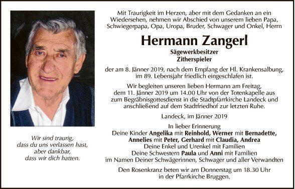 Hermann Zangerl