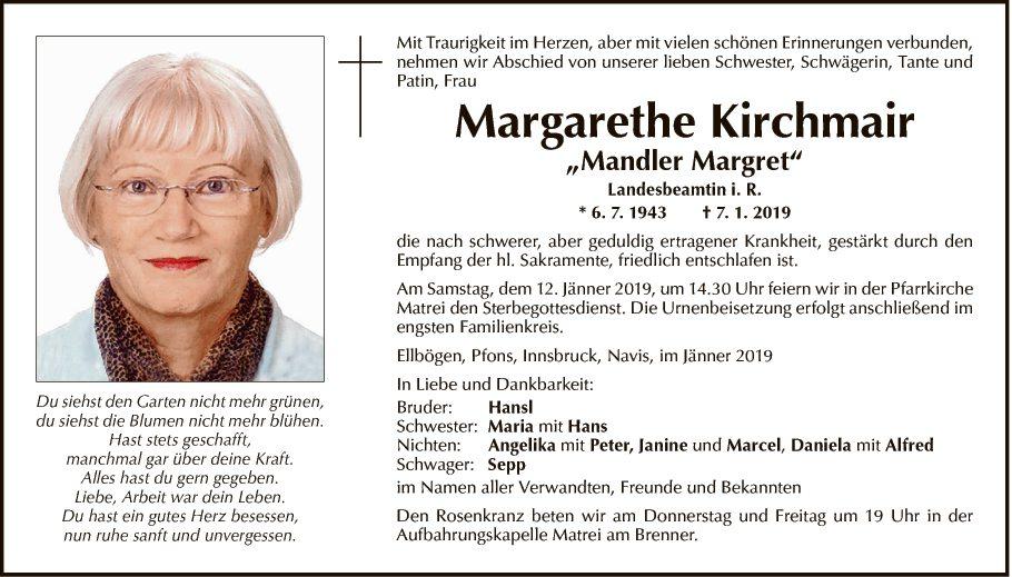 Margarethe Kirchmair