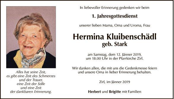 Hermina Kluibenschädl
