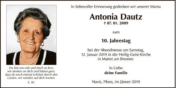 Antonia Dautz