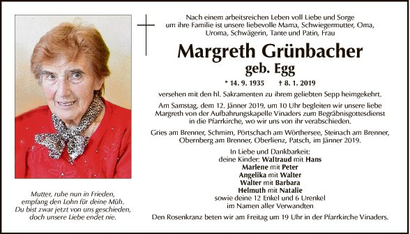 Margreth Grünbacher