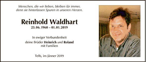 Reinhold Waldhart