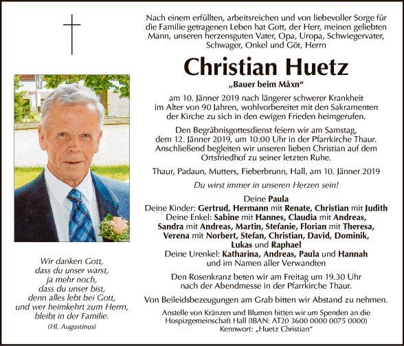 Christian Huetz