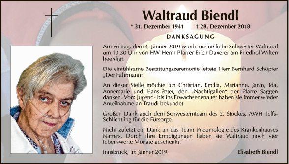 Waltraud Biendl