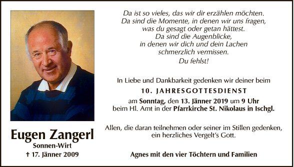 Eugen Zangerl