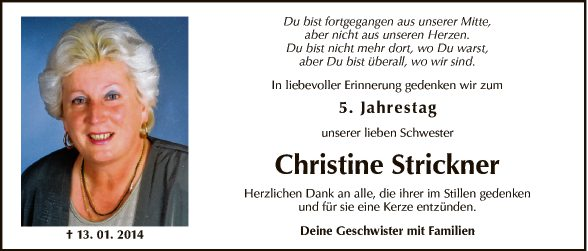 Christine Strickner