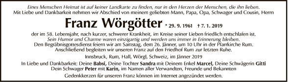 Franz Wörgötter