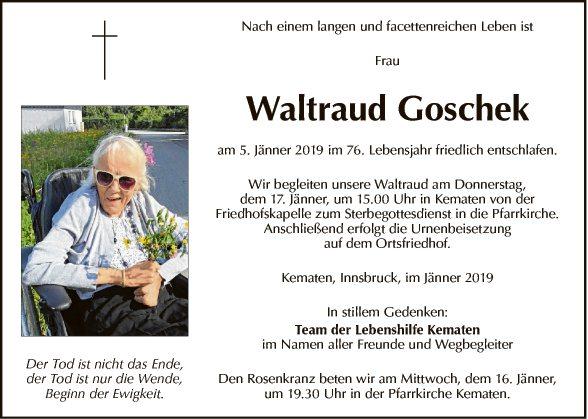 Waltraud Goschek
